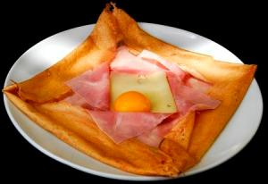Photo: Crepe jambon fromage