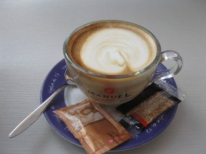 Photo: Caffe latte