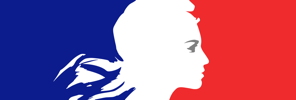 Logo dela Republique francaise